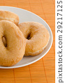 Donuts on a plate 29217125