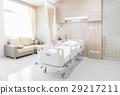 Hospital room with beds and comfortable medical  29217211