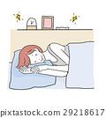 女人睡覺的女人 29218617