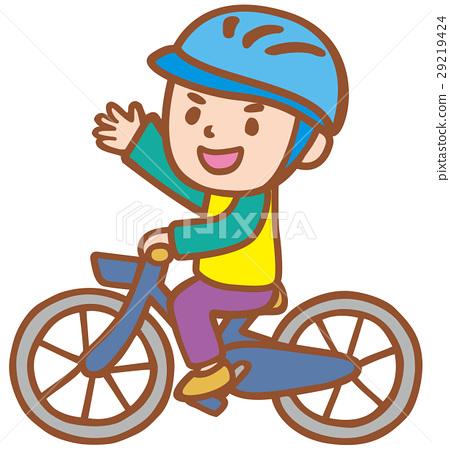 騎自行車的男孩 29219424