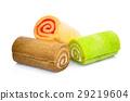Jam roll mini isolated on white background 29219604