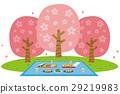 꽃 놀이, 꽃 구경, 벚꽃 놀이 29219983