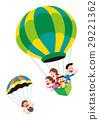 氣球,家庭,氣球和家庭,氣球,熱氣球 29221362