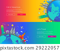 travel, vector, design 29222057