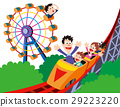 rollercoaster amusement park 29223220