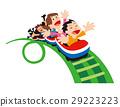 rollercoaster amusement park 29223223
