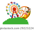 rollercoaster amusement park 29223224