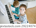 kid, child, piano 29224074