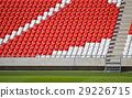 Bleachers in the stadium 29226715