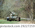 Battle tank in moor 29227259