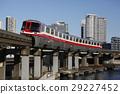tokyo, monorail, city 29227452