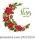 玫瑰 玫瑰花 紅色 29231614