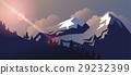 Stock vector illustration horizontal background 29232399