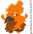 guinea pig cartoon character 29232675