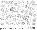 sea life animals coloring page 29232700