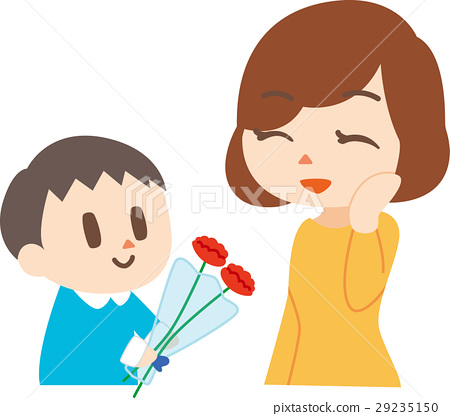 Mother's Day Mother and a boy 29235150