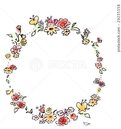 花冠 冠 花环 29235358