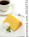 chiffon cake, pastry, dessert 29236733