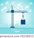 construction, crane, engineering 29236912