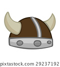 Viking Helmet isolated illustration 29237192