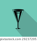 wine glasses icon 29237205