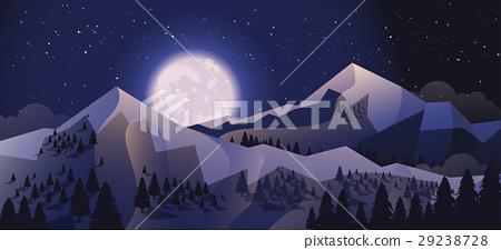 Stock vector illustration horizontal background 29238728