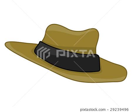 hat isolated illustration 29239496