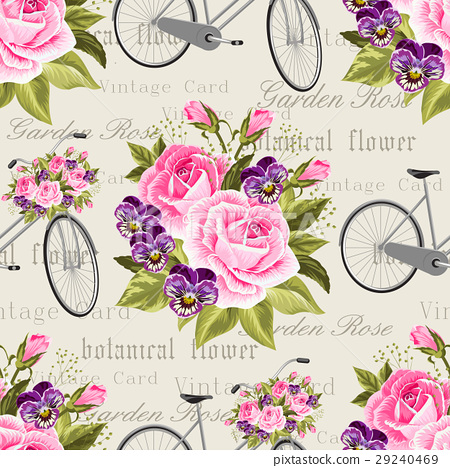 Seamless floral pattern 29240469