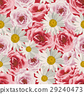 Seamless pattern flowers 29240473