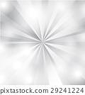 White and Gray Sunburst Background, Abstract backg 29241224