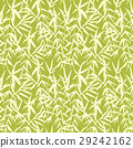 Bamboo seamless japanese pattern on green 29242162