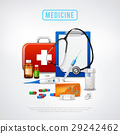 Medical Tools Kit Background 29242462