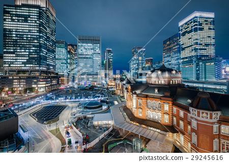 東京車站夜景 29245616