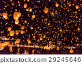 니가타 津南 눈 축제 비행 스카이 랜턴 29245646