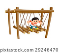 運動,複雜的遊樂場設備,公園,兒童站 29246470