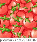 無縫的 設計 紅色 29248102