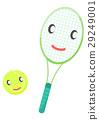 網球 圖像 擬人化 29249001