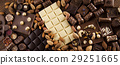 Cinnamon, Dark chocolate with milk and candy sweet 29251665