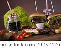 american, beef, burger 29252426