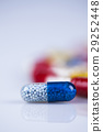 Composition with variety of drug pills background 29252448