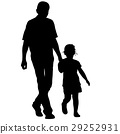 family, father, silhouette 29252931