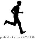 runner, run, silhouette 29253136