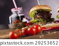 american, beef, burger 29253652
