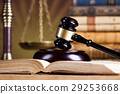 Law wooden gavel barrister, justice concept,legal  29253668