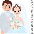 Marriage bride and groom 29254712