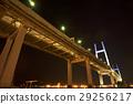 横滨湾大桥 海湾大桥 夜景 29256217