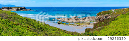 Summer blossoming Atlantic coastline (Galicia). 29256330