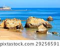 Praia dos Tres Castelos, Algarve, Portugal. 29256591