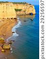 海灘 懸崖 海岸 29256597