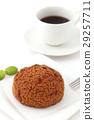 奶油泡芙 甜食 糖果店 29257711